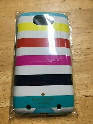 Kate Spade Phone Case for Motorola Droid Turbo Phone Case (Candy Stripe) - NEW