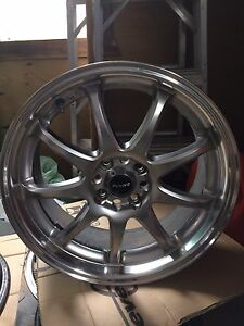 Roues Mags 17po Fast