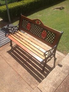 Garden bench Bolwarra Maitland Area Preview