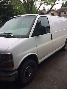 1999 Chevrolet Express Minivan, Van