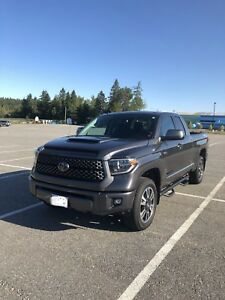 "2018 Toyota Tundra TRD Sport Double Cab ""Great Condition"""