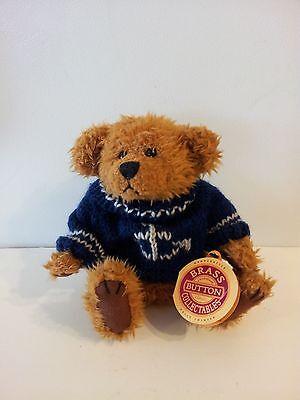 Pickford Bears Brass Button Collectables Tango Bear