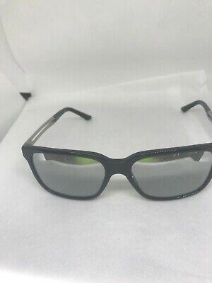 AUTHENTIC VERSACE VE4307 GB1/6V Black/Light Grey Mirror Lens SUNGLASSES