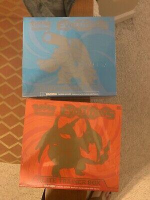 Pokemon XY Evolutions Elite Trainer Box Blastoise & Charizard Lot of 2 NEW ETB