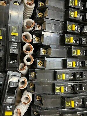 Square D Qo120gfi Qo120gfic 20amp Gfci Ground-fault Circuit Breaker