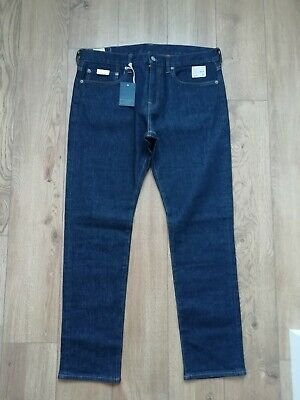 J CREW JEANS 34 X 30 NEW / BNWT STYLE 484 J.CREW STRETCH DENIM JEANS