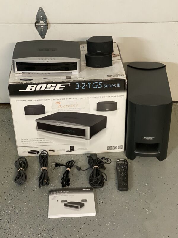 Bose 321 GS Series-III  HDMI DVD Home Theater System