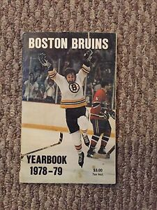 Boston Bruins Yearbook