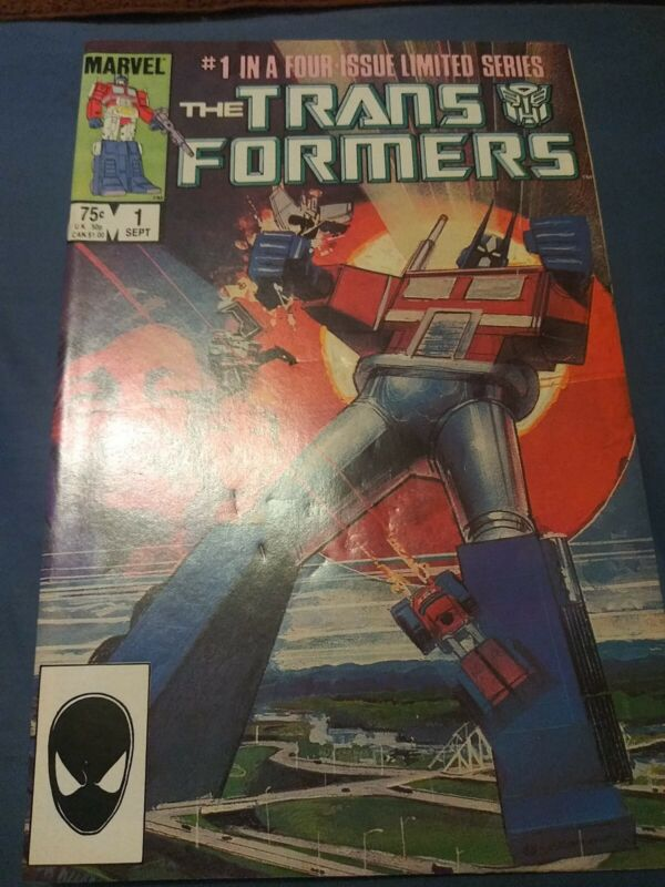 The Transformers #1 (1984) 1st Appearance Of Optimus Prime, and Megatron.
