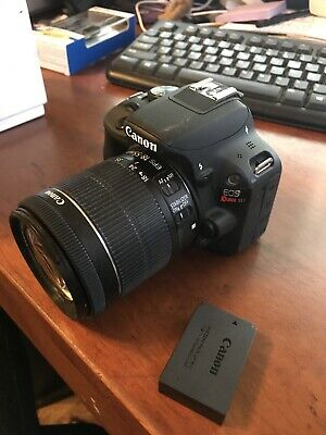 Canon EOS Rebel SL1 18-55mm IS STM Lens Kit - Black