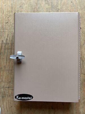 Key Cabinet Storage Safe Security Lock 126 Keys Holder Box Wall Mount Organizer