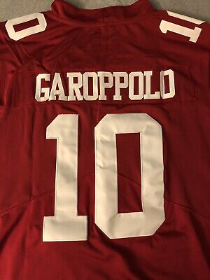 5cf8fc50693 San Francisco 49ers Red Jimmy Garapolo Jersey Large