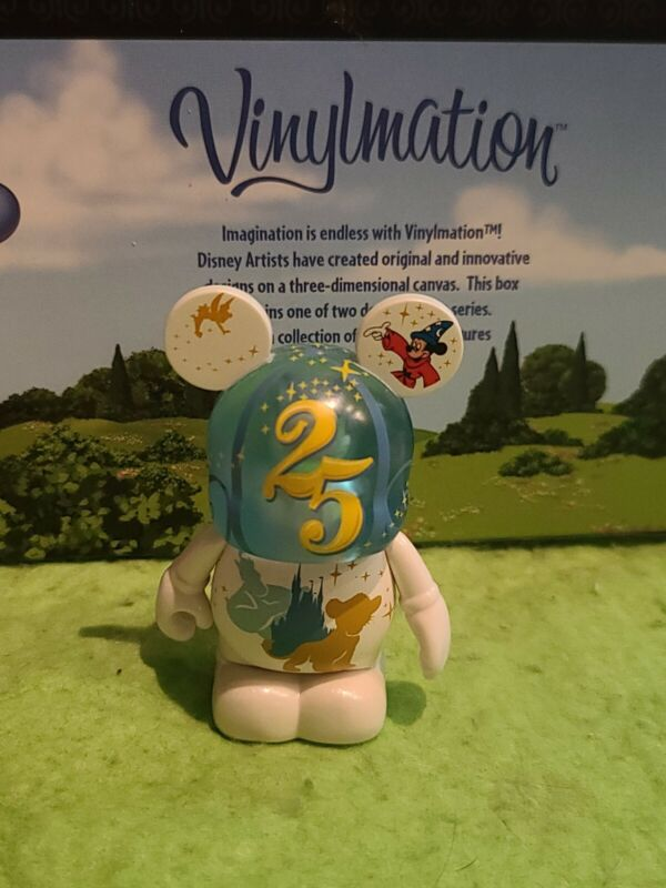 "DISNEY Vinylmation 3"" Park Set 8 25th Anniversary Celebration Remember Magic"