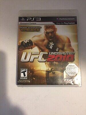 Usado, UFC Undisputed 2010 (Sony PlayStation 3, 2010) Tested Fast Shipping comprar usado  Enviando para Brazil