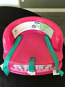 Minnie noise simple and secure booster seat (high chair)