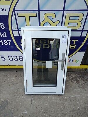 Aluminium Casement Window 920H x 600W (Item 4300/17) pearl white