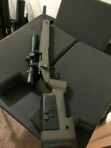 Tanaka SUPER RARE Custom Mid Night Gold M40 High Power Gas Bolt Action Rifle