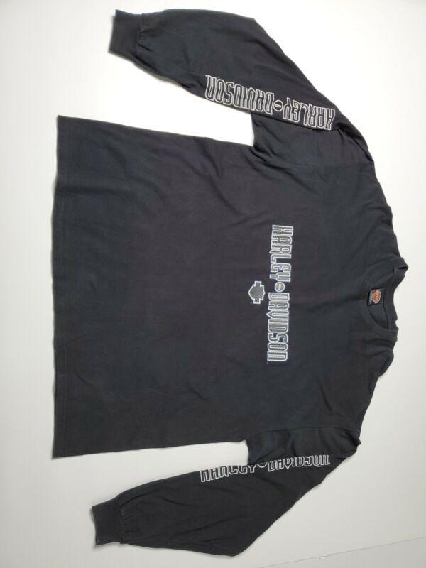 Harley Davidson long sleeve shirt black