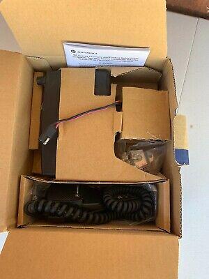 Motorola Radius Sm50 Uhf Narrowband Mobile 2-way Radio Aam50rpc9aa1an W Mic. New