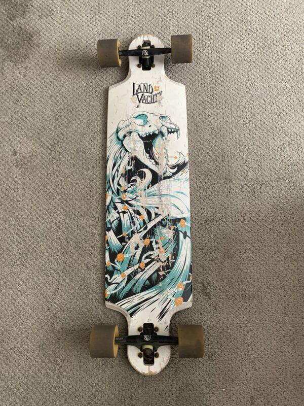 2012 Landyachtz Drop Speed Longboard Rare
