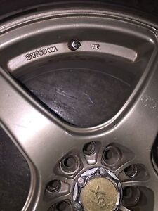 Mags with tires $1200  non negotiable West Island Greater Montréal image 7