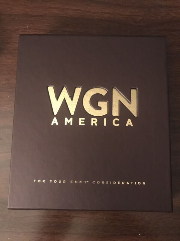 2016 Emmy FYC WGN America DVDs - Underground & The Outsiders (BRAND NEW)
