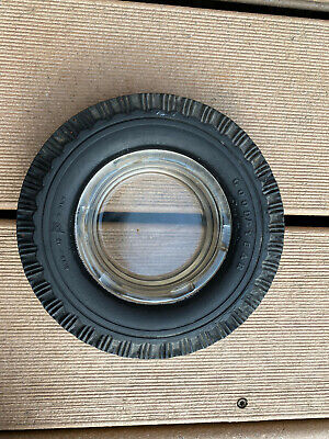 Vintage GOOD YEAR Tire Advertising SUPER CUSHION Good Year Rubber Tire Ashtray
