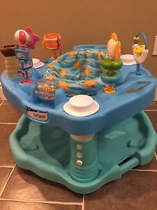 ExerSaucer beach theme