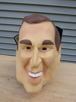 President George W. Bush Halloween Party Latex Mask 14+ - George Bush Halloween Mask