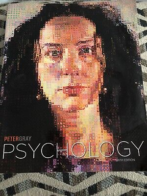 Psychology by Peter O. Gray (2010, Paperback) Sixth Edition paperback textbook