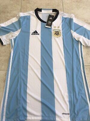 5d4eaeb91 Argentina Soccer Jersey - Medium - White  Blue - Adidas