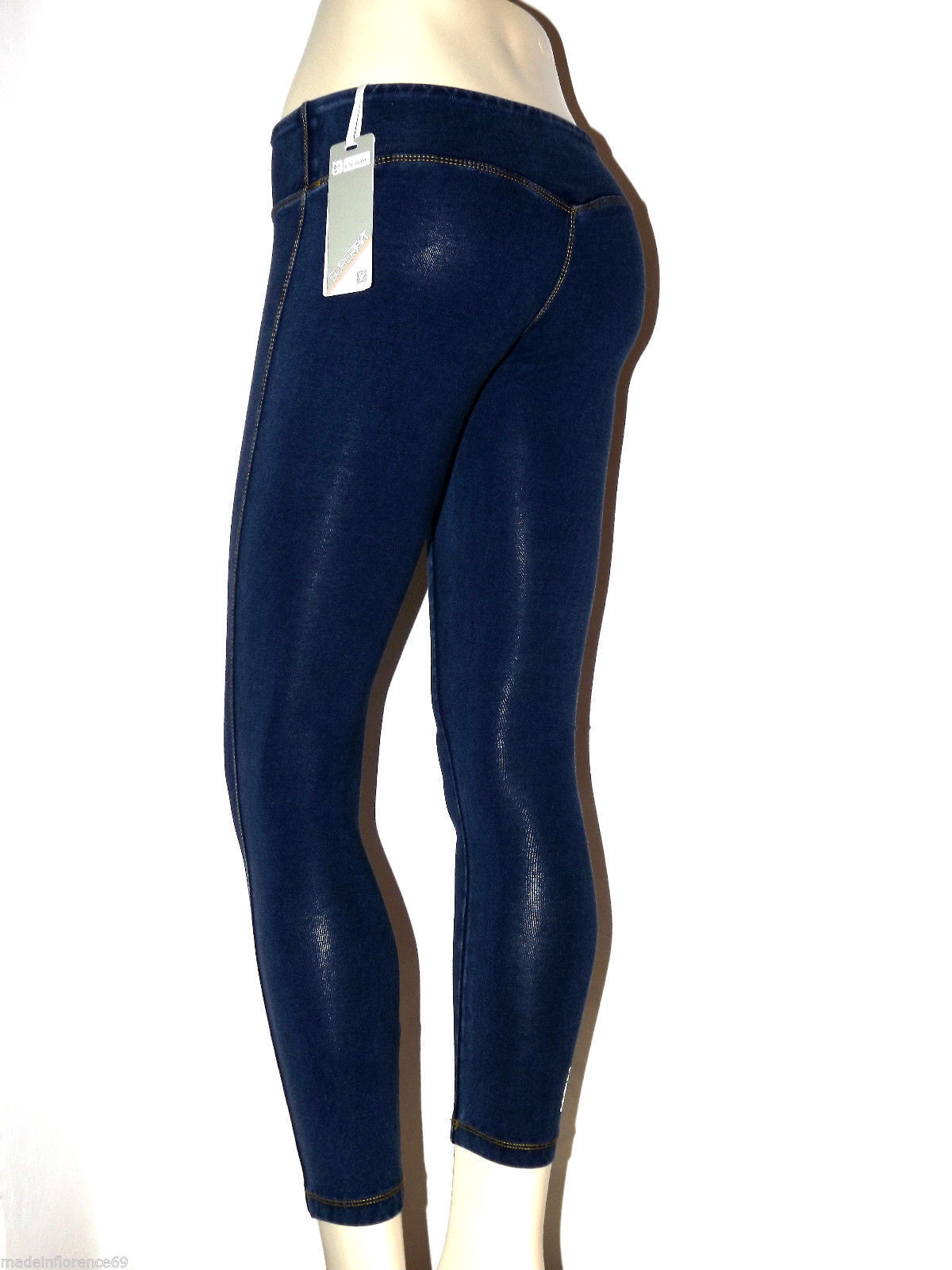 SCONTO 20% FREDDY PANTALONE 7/8 MODELLANTE XS S M L XL SUPERFIT S6SFI7A LEGGINGS