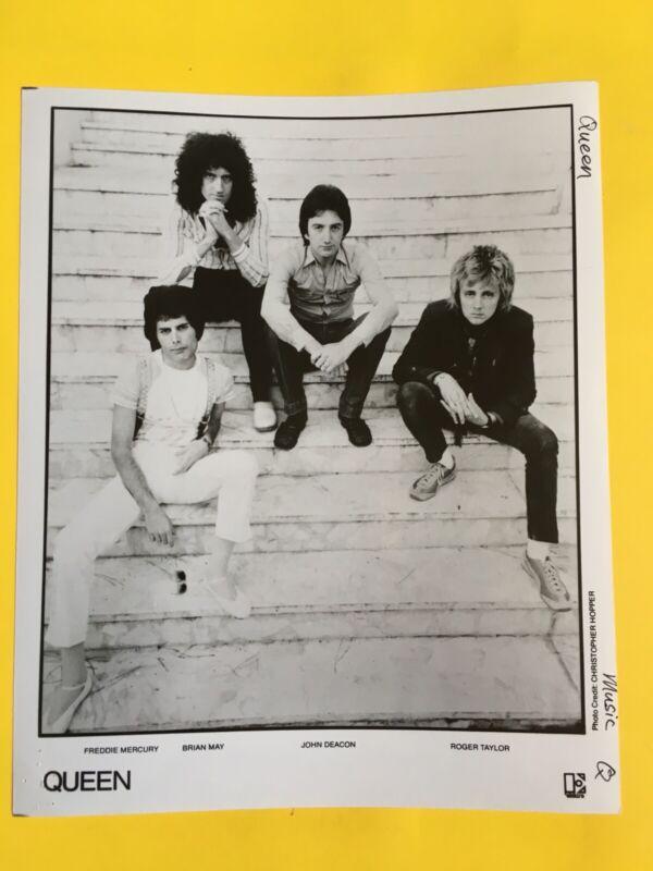 "Queen Press Photo 8x10"", Freddie Mercury, Elektra"
