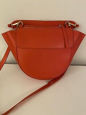 Wandler Medium Hortensia Red Orange Color
