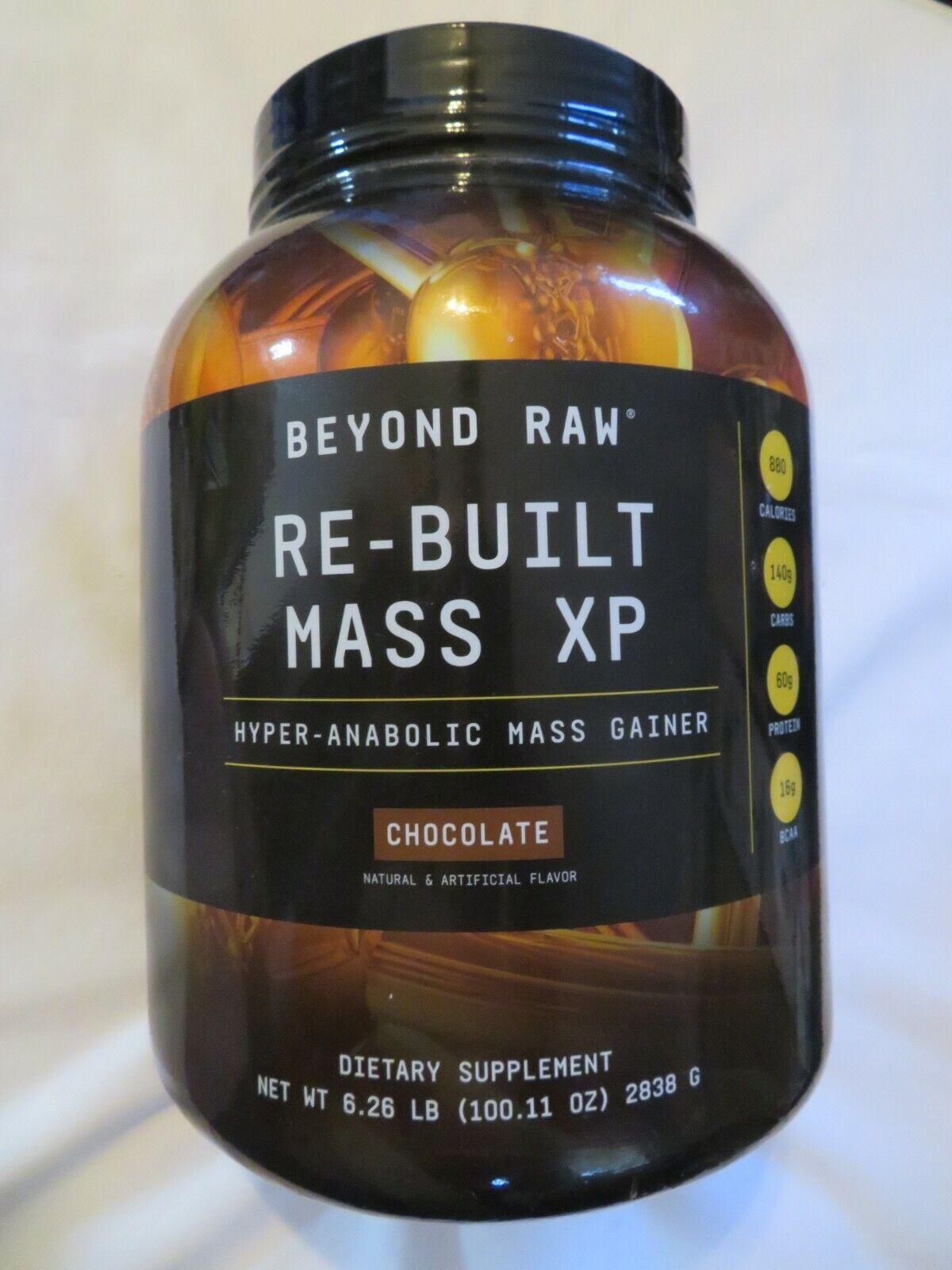 Beyond Raw Re-Built Mass XP Mass Gainer 6.26 lbs 11 Servings