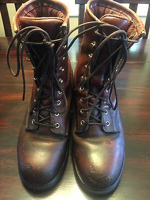 Chippewa Boots Men's 73030 Steel Toe EH Insulated Leather Logger Boots 8.5 W Eh Logger Boots