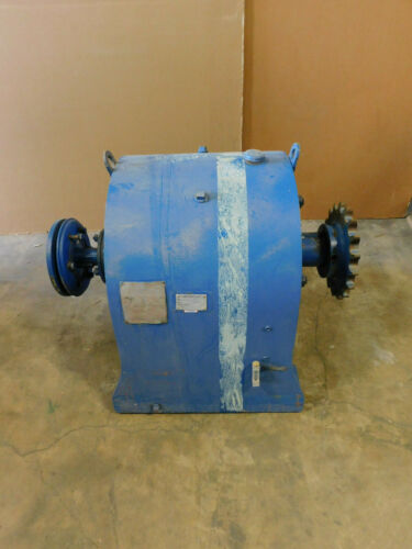 Falk Enclosed Gear Drive 75C2-02B2, 75 HP, 1170/190 RPM, 6.239:1 Ratio, reducer