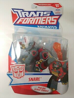 Transformers Animated Snarl – NEW – MOSC