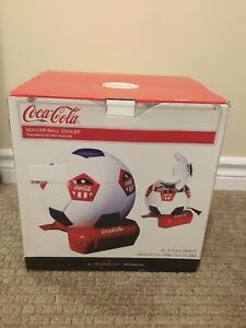 Coca Cola Soccer Ball Thermoelectric cooler new