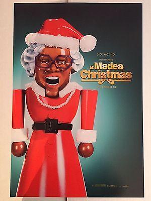 A MADEA CHRISTMAS 11x17 ORIGINAL S/S MOVIE PROMO POSTER ()