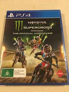 PS4 Playstation MX Game Monster Energy Supercross