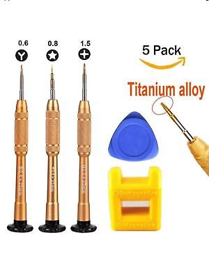 Best Screwdriver Repair fix Tool Kit Pentalobe 0.8 Philips iphone 7 8 X Y0.6