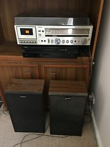 AM/FM Tuner, Turntable, Cassette combination unit & CD player Geelong Geelong City Preview