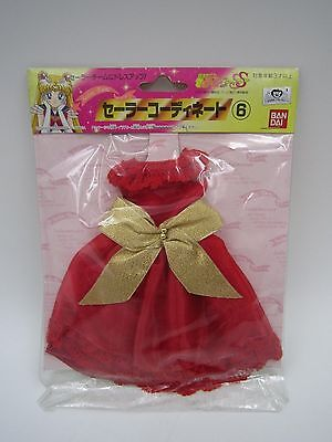 Anime Sailor Moon SS Dress Up Clothes Doll Costume Clothing No. 6 Bandai Japan - Moon Dress Up