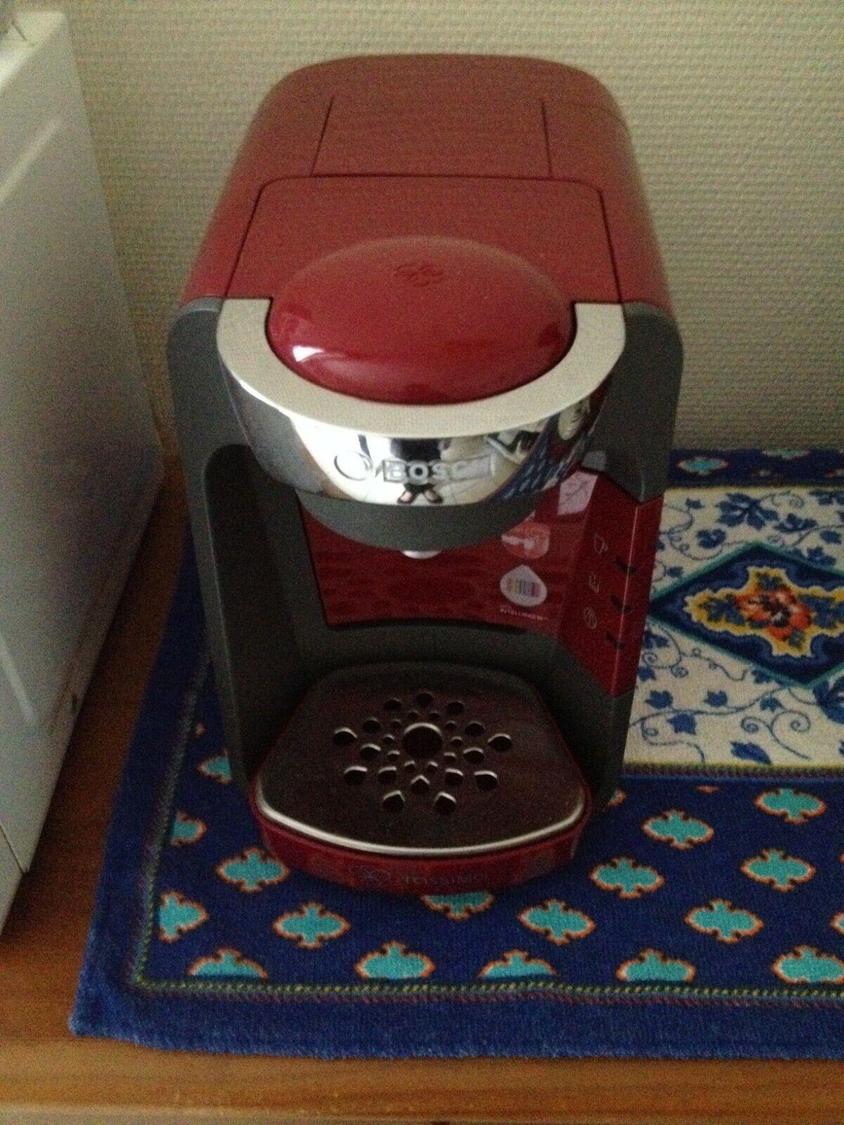 Bosch tassimo cafetière à capsule - rouge