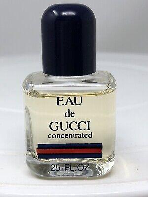 Miniature Gucci Vintage Perfume EDP Eau De Gucci Parfum Concentrated 0.25 Oz