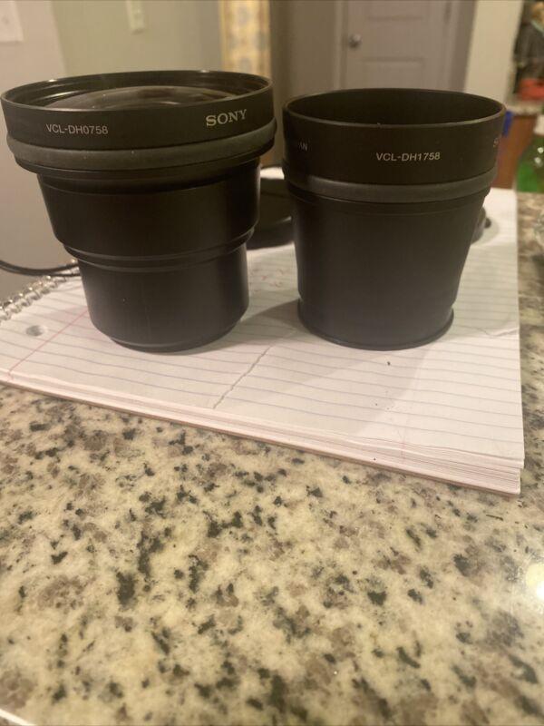 Sony Tele Conversion Lens x1.7 VCL-DH1758 Plus VCL-DH0758