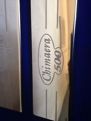 tvr Chimaera 500 door sills etched logo stainless steel Tread Plates tvr