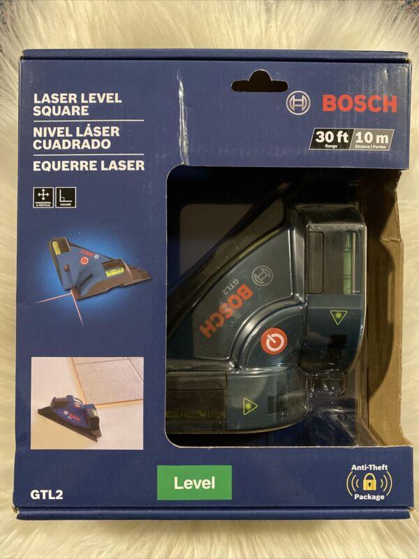 Bosch GTL2 Laser Level Square Vertical Chalkline for Tiles Floor etc