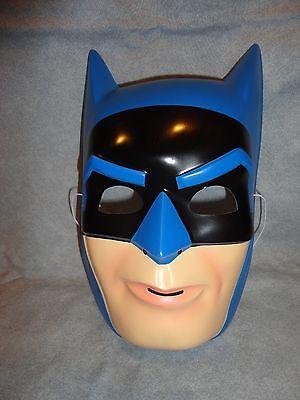 Blue Batman Mask (BLUE BATMAN DC COMICS VERSION HALLOWEEN MASK PVC CHILD)